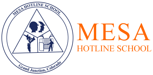 Mesa Hotline School Logo